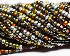 8/0 (3.1mm) Full Metal Etched Seed Beads Seed Beads - Buy 2+ for Free Shipping