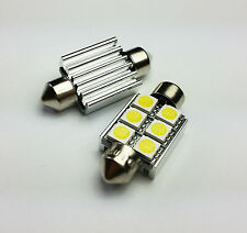 C5W 36MM 6 SMD LED CAN BUS OBC ERROR FREE Number Plate bulbs E