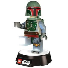 Official LEGO Star Wars Boba Fett LED Night Light Torch Lamp Flashlight - Boxed