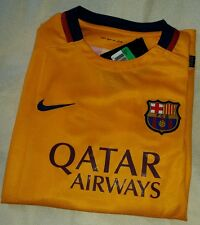 NIKE FCB BARCELONA AWAY FOOTBALL SHIRT JUNIOR / BOYS XL 13-15 Yrs (RRP £52) BNWT