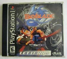 Beyblade PS1 (Sony Playsation, 2002) Complete - Tested & Working! SHIPS FAST