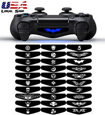 Led Light Bar Skin Sticker Decal Wrap for Playstation 4 PS4 Pro Slim Controller