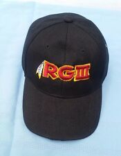 Robert Griffin 111 Cap W/Knitted Logo RG 111 Black Size Adjustable Fit