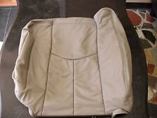 2003 2004 2005 2006 Chevy Tahoe Suburban Driver Lean Back Leather Seat Cover Tan