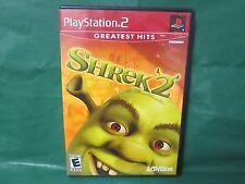 Shrek 2  (Sony PlayStation 2, 2004) Greatest Hits - Complete