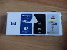 GENUINE HP #83 BLACK UV CARTRIDGE C4940A DESIGNJET 5000 5500 FACTORY SEALED