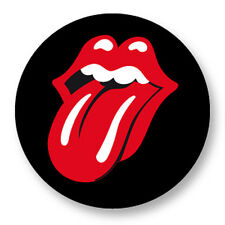 """Pin Button Badge Ø25mm 1"""" Rolling Stones Tongue Langue UK Mick Jagger The Stones"""