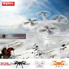 Syma X8C 2.4Ghz 6-Axis Gyro RC Quadcopter UAV RTF UFO w/ 2MP HD Camera White