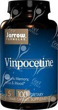 Jarrow Formulas, Vinpocetine ( Cavinton ), 5mg x100caps