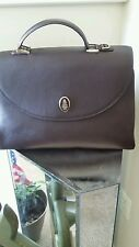 Mark Cross Brown Leather Murphy 1845 Large Satchel 100% AUTHENTIC