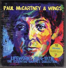 Paul McCartney & Wings Lifeworks  10 CD's+ 1 DVD's Box Set