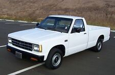 Chevrolet: S-10 1-OWNER S10 SOUTHERN UNIT NO RUST TURN KEY DRIVER
