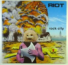 "12"" LP - Riot - Rock City - C1789 - washed & cleaned"