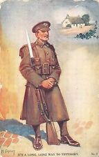 POSTCARD    MILITARY  WWI    It's a long  long way to  Tipperary    Canivet