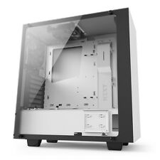 NZXT Source 340 Elite Midi Tower Gaming Tempered Glass PC Case - White