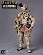 "Crazy Dummy 1/6 Scale 12"" US Navy Seal Team 8 Gunner Figure  with MK480D1  78003"
