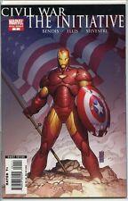 Civil War the Initiative 2007 one-shot near mint comic book