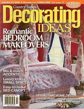 Decorating Ideas by Country Sampler,April 2003