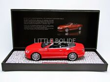 Minichamps 1/18 Bentley Continental Gt velocidad Convertible - 2013 107139330