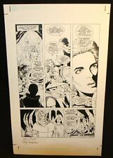 Star Wars: River of Chaos #? p.7 - Cave - 1995 Signed art by June Brigman