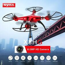 Syma X8HG RC Quadcopter Drone 2.4G 8.0MP Camera Barometer Height Headless G2C3