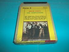 """THE TEMTATIONS """"HOUSE PARTY"""" MC STEREO 8 TAMLA MOTOWN 1975 SEALED"""