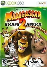 Madagascar: Escape 2 Africa (Microsoft Xbox 360, 2008) - Disc Only!