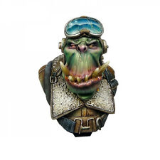 Ork War2 Orc Pilot Bust Kromlech KRBU001