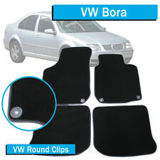 VW Bora - (1998-2005) - Tailored Car Floor Mats - Round Fittings - Volkswagen