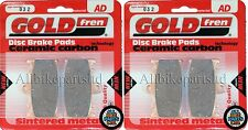 GOLDFREN HH SINTERED FRONT BRAKE PADS For: SUZUKI GSX-R 600 (SRAD) GSXR600 1999.