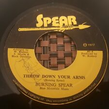 """Burning Spear Throw Down Your Arms Killer Roots 7"""" Listen !"""