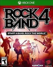 Rock Band 4 ( Microsoft Xbox One, 2015 )