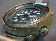 Aftermarket Hand Craft Solid Brass Tuna shroud case for SEIKO 300m SBBN007 only