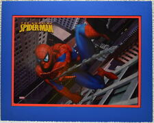 AMAZING SPIDER-MAN SWINGING PRINT PROFESSIONALLY MATTED