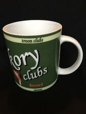 Hickory Clubs Golf Coffee Mug Bulger Cleek Niblick Calamity Jane Hosel Mashie