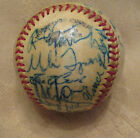 VINTAGE 1981 CHICAGO CUBS AUTO SIGNED BASEBALL 28 AUTOS CHECK IT OUT