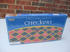 New Checkers Family Game Classics 2001 Fundex Sealed In The Box!
