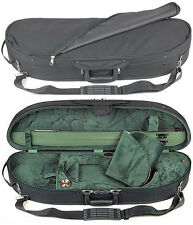 Bobelock 1047 Half Moon 3/4 Violin Case with Green Velour Interior - AUTHORIZED!