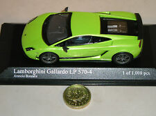 Minichamps 400 103840 Lamborghini Gallardo Lp570-4 Superleggera Metal green1:43