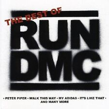 Run DMC Best Of CD NEW SEALED Walk This Way/My Adidas/It's Tricky/Raising Hell+