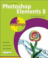 Photoshop Elements 8 For Windows and Mac by Nick Vandome (2010, Paperback) (B12)