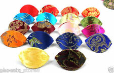 Wholesale 10PCS Chinese Handmade Silk Jewelry Ring Box Bag Coin Bag Purse