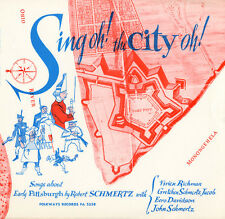 Robert Schmertz - Sing Oh! the City Oh!: Songs of Early Pittsburgh [New CD]
