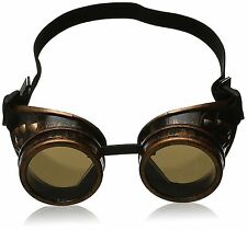 Vintage Steampunk Goggles Glasses Welding Cyber Punk Gothic New US STORE