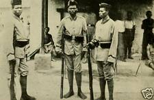 "Native African Soldiers of Cameroon World War 1 6x4"" Reprint Photo a"