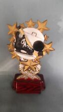 full color hockey trophy award multi star resin