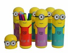 Set of 3 Minion Sketch Pen set for Kids school,office ( 36 sketch pens )