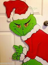 ON SALE!!! GRINCH Stealing the CHRISTMAS Lights Yard Art Decor LEFT Green Hands