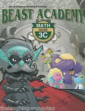 Beast Academy Math 3C Guide and Practice Bundle 2-book set