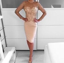 Celeb Dolls House of CB Nude and Gold Glitter Dress Size 6 8 10 12 Available